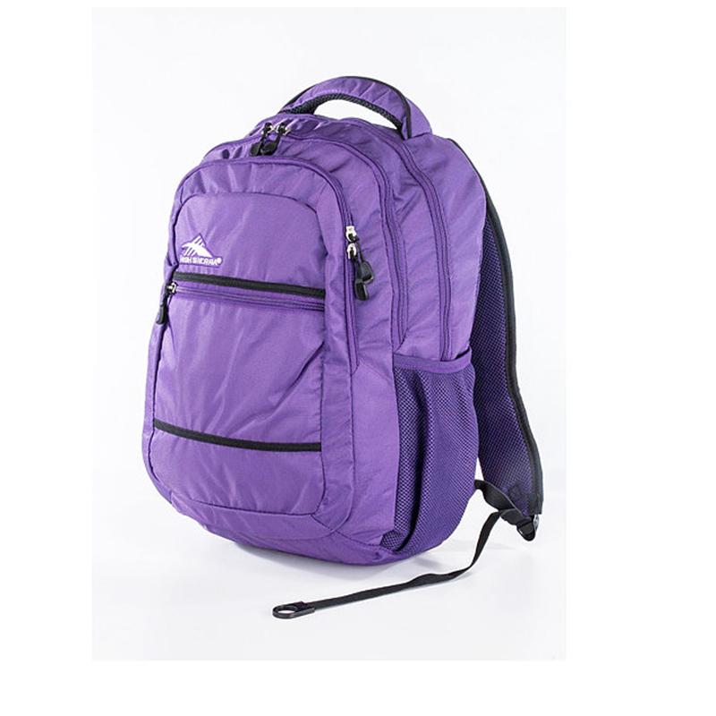 HIGH SIERRA美國戶外運動用品-時尚休閑背包-大容量男女運動雙肩背包-新秀麗Samsonite副牌 - 深紫-禾雅
