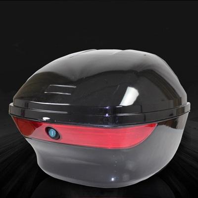 機車置物箱 後尾箱-堅固耐用加厚靠背摩托車用品5色73q13【獨家進口】【米蘭精品】