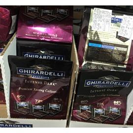 [COSCO代購 如果沒搶到鄭重道歉] GHIRARDELLI 黑巧克力綜合包 543公克 (兩入裝)  _W530447