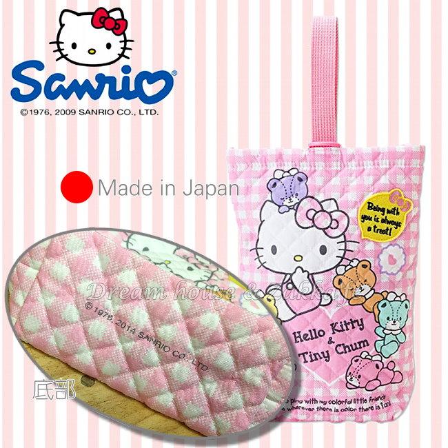 日本製 正版 三麗鷗 sanrio Hello Kitty 置物袋/掛袋/收納袋《 可掛嬰兒床喔 》★ 夢想家精品生活家飾 ★