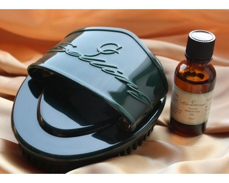 【蠍尾刷®】SGS認證按摩器輕鬆↘塑身SPA 淋巴排毒精油  【海外配送】