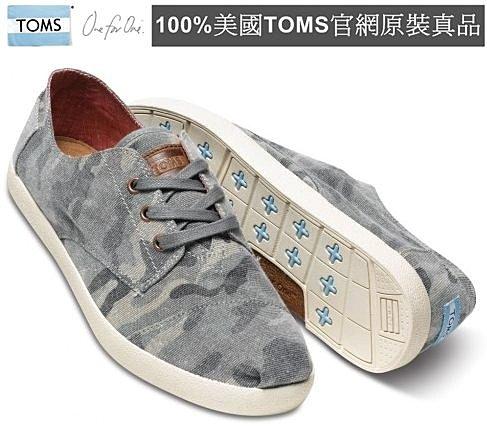 【Cadiz】美國真品正品 TOMS 迷彩帆布休閒男鞋 [Camo Canvas Men s Paseos/ 代購/ 現貨]