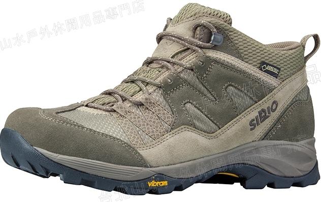 [ SIRIO ] 登山鞋/健行鞋/休閒鞋/背包客/旅遊 PF156-2 日本 Gore Tex防水透氣黃金大底 中筒棕色