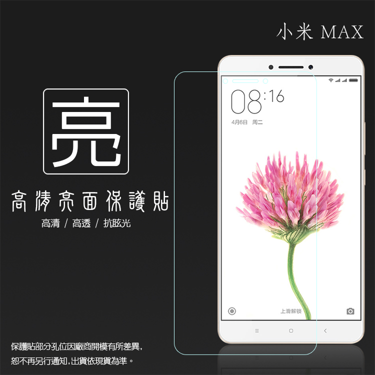 亮面螢幕保護貼 MIUI Xiaomi 小米 Max 保護貼