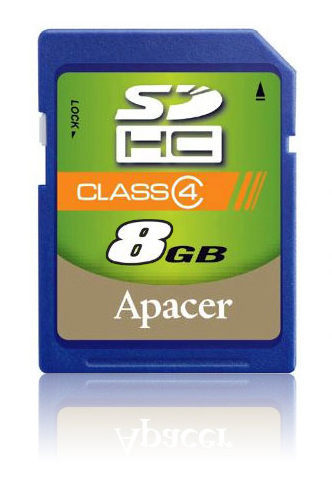 NORNS Apacer 宇瞻 8GB 8G SDHC 記憶卡 單眼相機 Z340 Z2300 GF5 NEXF3