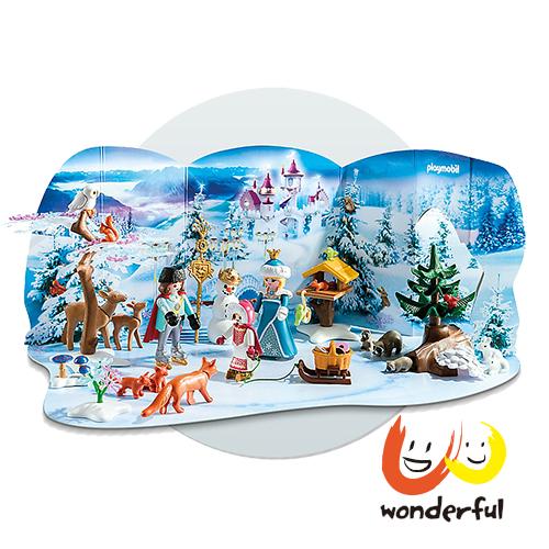 Playmobil 溜冰公主降臨曆
