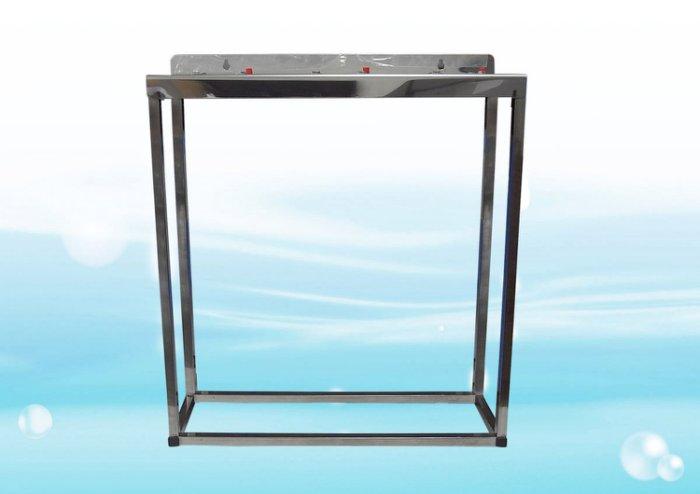 ADD不鏽鋼水塔過濾器腳架《20英吋腳架、大胖3道式》1英吋規格