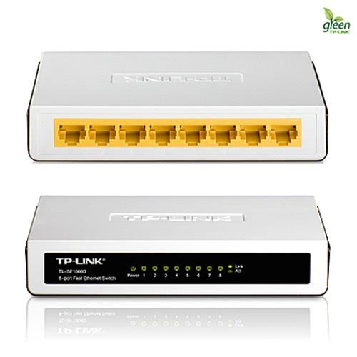 TP-LINK 8埠乙太網路交換器(TL-SF1008D)