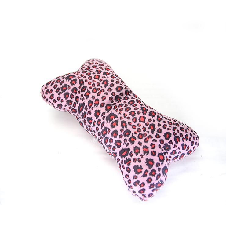 布質骨枕 - 粉紅豹紋
