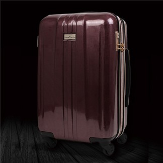 日本 LEGEND WALKER 6701-48-19吋 拉鍊輕量煞車箱 碳纖紫