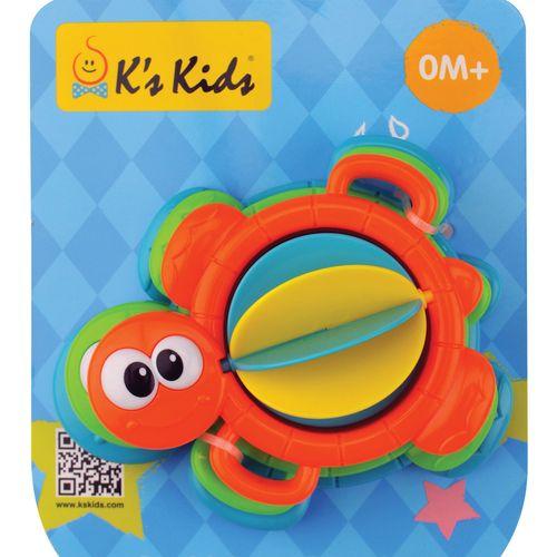 ★衛立兒生活館★K's Kids 奇智奇思-洗澡小烏龜