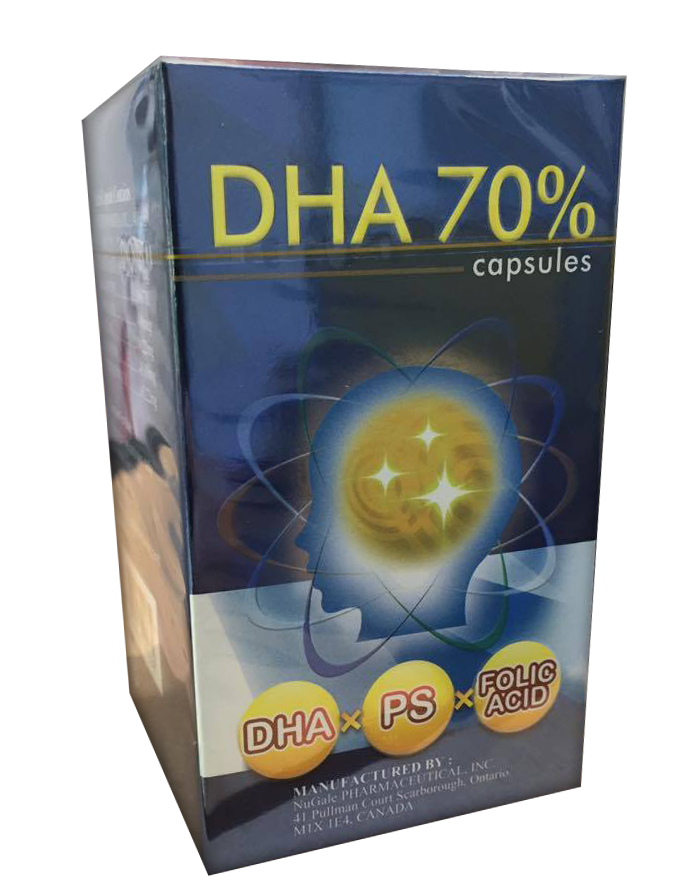 力泰魚眼窩油DHA 70% 軟膠囊【美十樂藥妝保健】