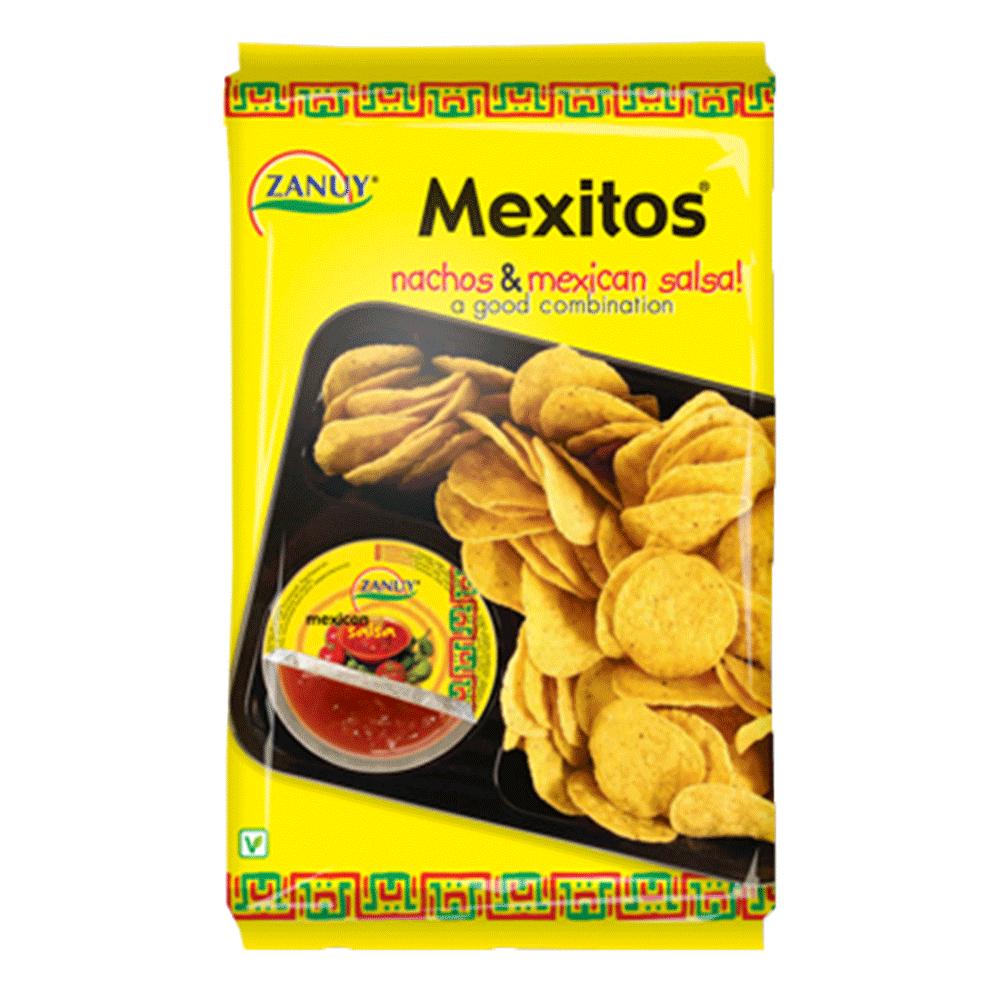 西班牙進口 ZANUY-墨西哥莎莎醬玉米脆片組合180g