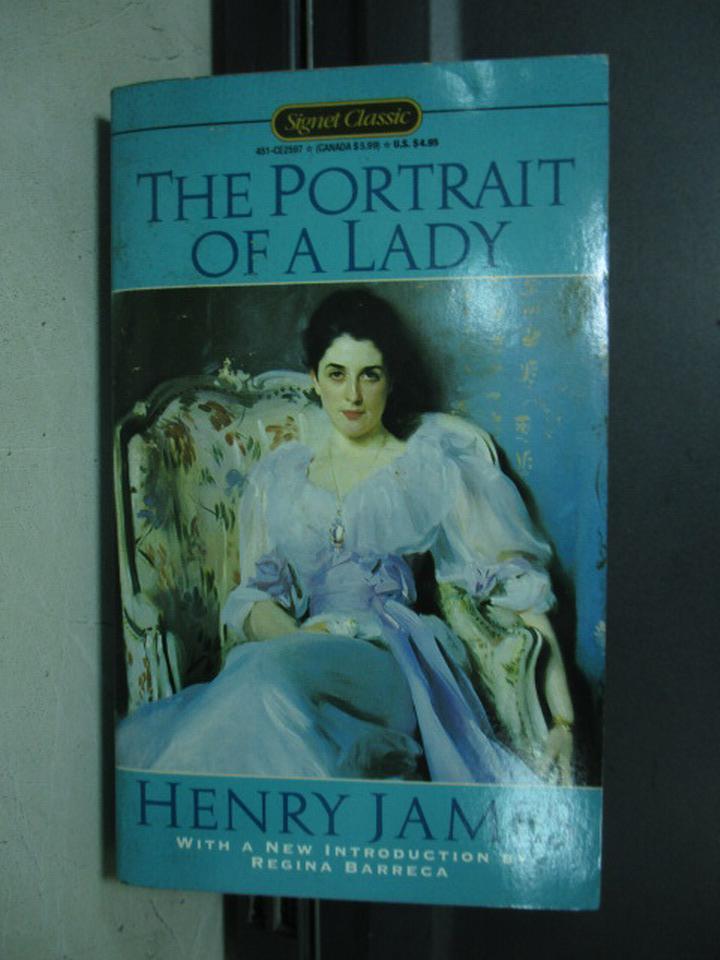 【書寶二手書T7/原文小說_KAT】The portrait of a lady_Henry james