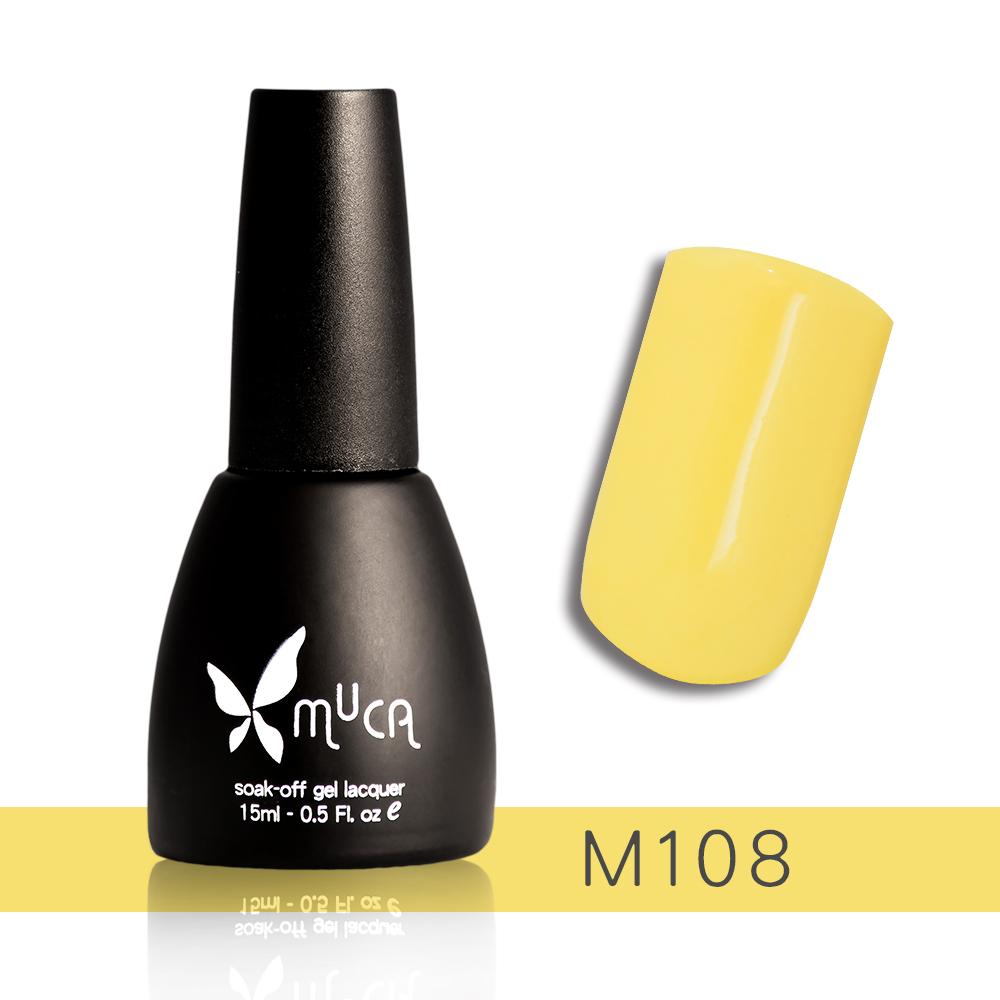 Muca沐卡 即期光撩凝膠指甲油 M108(15ml)