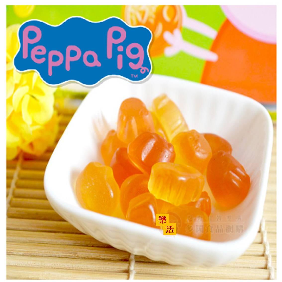 佩佩豬果汁軟糖 Peppa Pig (單包)18g 糖果  【樂活生活館】