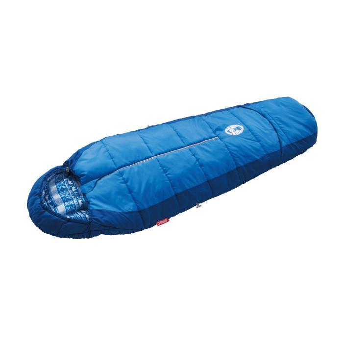 ├登山樂┤美國 Coleman  兒童可調式海軍藍睡袋/C4  #CM-27270M