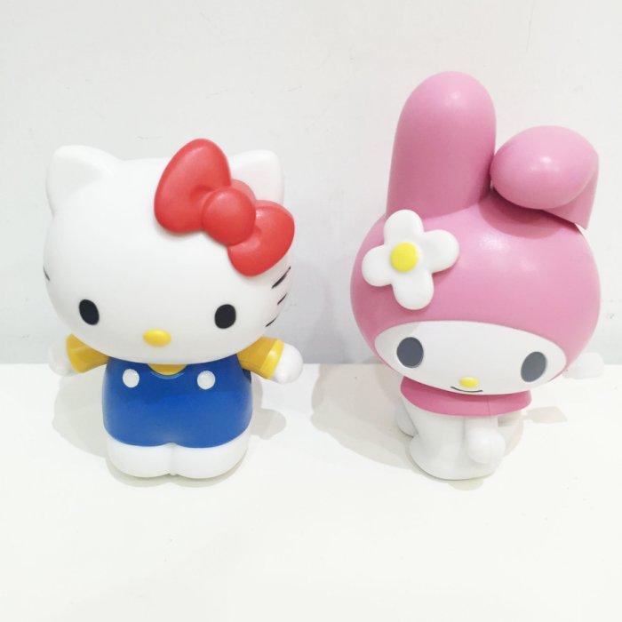 HELLO KITTY 美樂蒂 翻滾吧 移動 搖擺 公仔 玩偶 模型 擺飾 玩具 正版日本進口 * JustGirl *