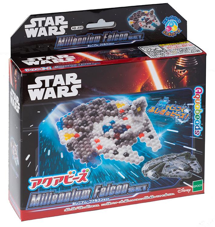 日本 EPOCH STAR WARS 星際大戰 水串珠 AQ-230補充包 千年鷹