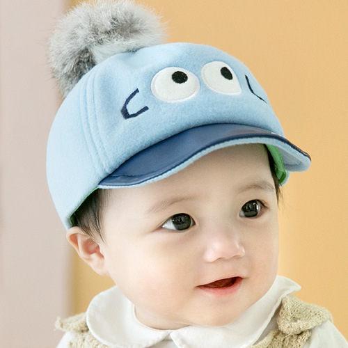 寶寶帽 大眼睛軟沿鴨舌帽  嬰兒帽 CA5022