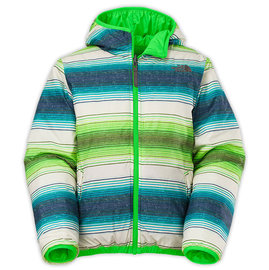 【鄉野情戶外專業】 The North Face|美國| REVERSIBLE PERRITO 雙面羽絨外套 男童/兒童外套 雙面外套-綠色/CA51