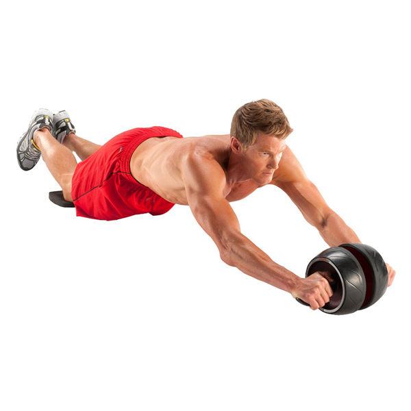 【創駿】超猛塑身彈力健腹輪 健腹器 健身神器 公牛腰 減肥瘦身神器