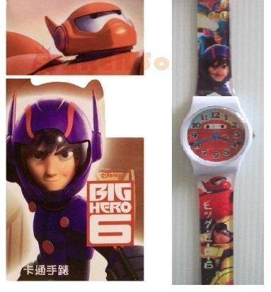 【禾宜精品】正版 迪士尼 大英雄天團 手錶 兒童錶 休閒錶 卡通錶 生活百貨 (BG-536)