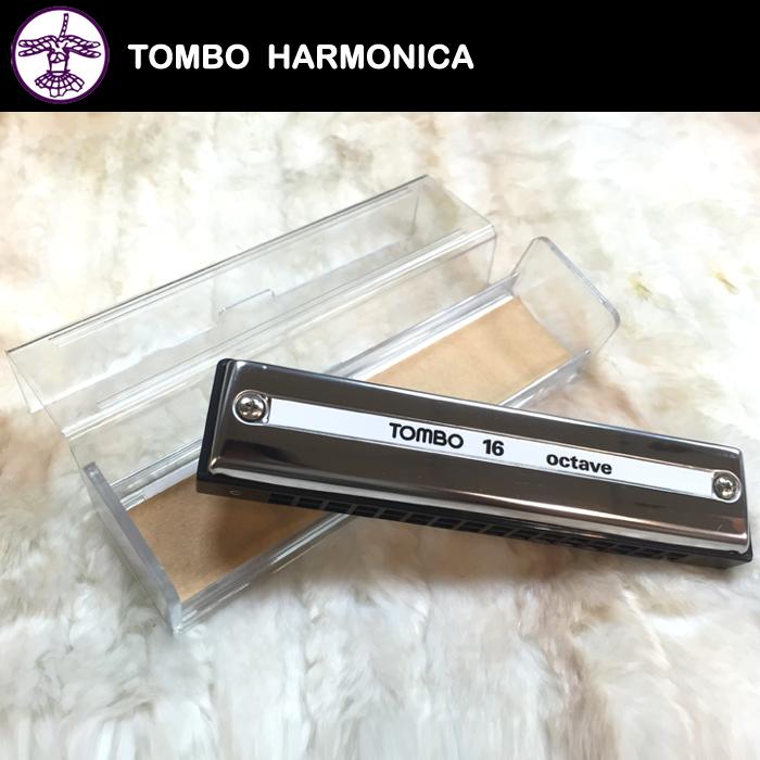 【非凡樂器】『TOMBO』蜻蜓牌16孔複音口琴NO.9516 複音系列中音域最寬廣的產品
