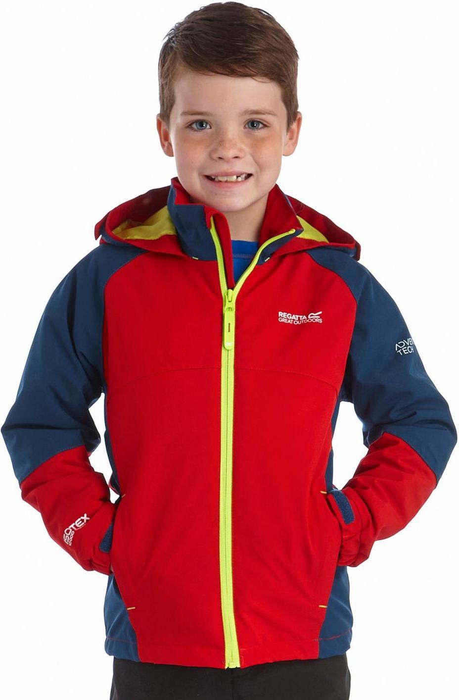 Regatta 兒童款雪衣/化纖外套/防水外套/彈性滑雪外套Paratrooper 童款 RKP134 3MA紅