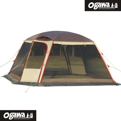 Dome Shelter Lana 獨立連結兩用Dome型客廳帳 Ogawa帳篷 小川帳篷