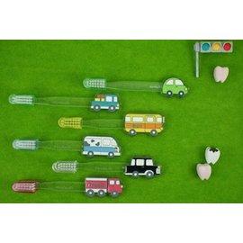★衛立兒生活館★兒童造型牙刷OH ! MY CAR系列