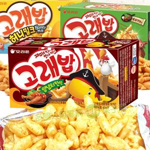 韓國Orion好麗友 好多魚餅乾 海洋生物造型餅乾 [KR197]