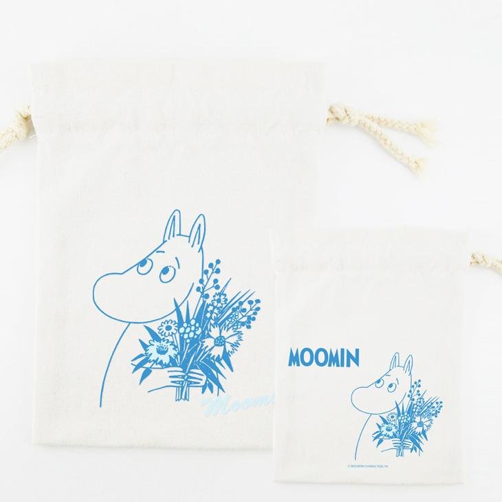 Moomin嚕嚕米授權 - 束口袋:【 Moomin 】