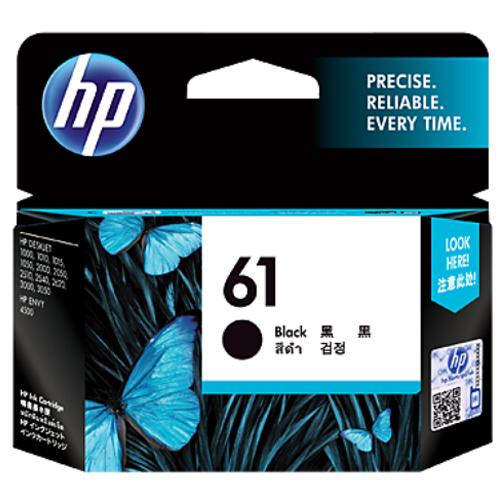 【HP 墨水匣】HP CH561WA/NO.61原廠黑色墨水匣
