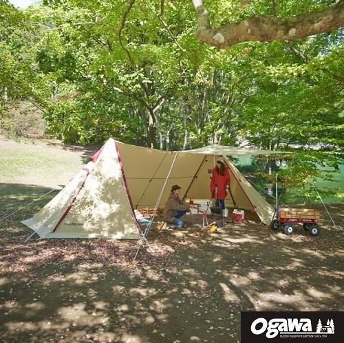 Twin Pilz Fork Ogawa帳篷 小川帳篷 雙峰帳 蘑菇帳