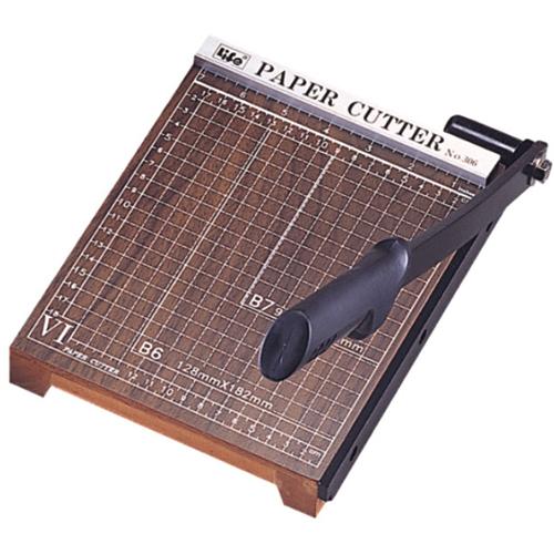 【LIFE 徠福】 NO.304(A4)木製裁紙機