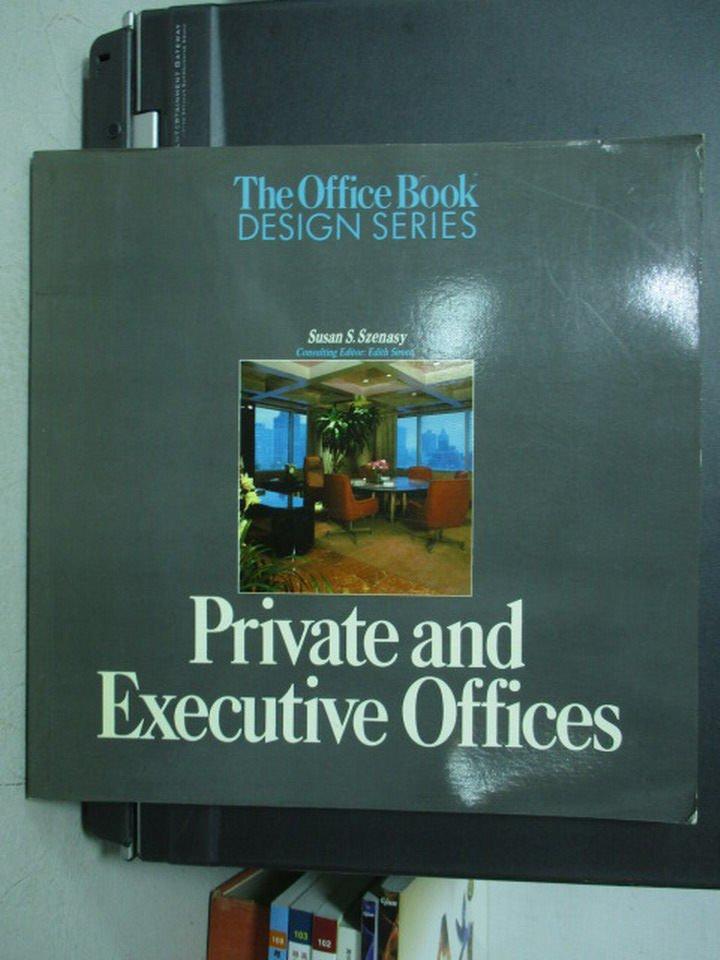 【書寶二手書T9/設計_QFC】Private and Executive Offices
