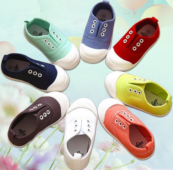 兒童帆布鞋男女鞋寶寶鞋中小童鞋