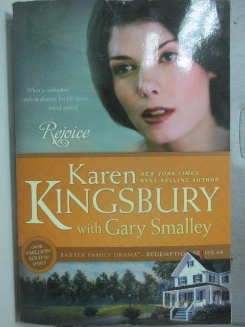 【書寶二手書T1/原文小說_HQS】Rejoice_Kingsbury, Karen/ Smalley, Gary