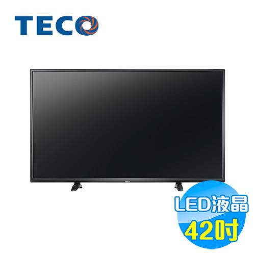 東元 TECO 42吋LED液晶電視 TL4282TRE