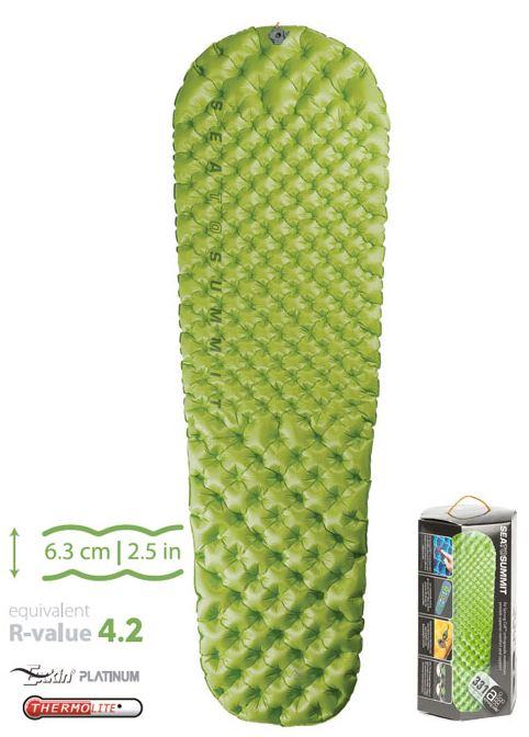 【鄉野情戶外專業】Sea To Summit 澳洲 Comfort Light Insulated Mat舒適系列睡墊加強版-R綠 / 登山睡墊(含維修備品)_AMCLINSR