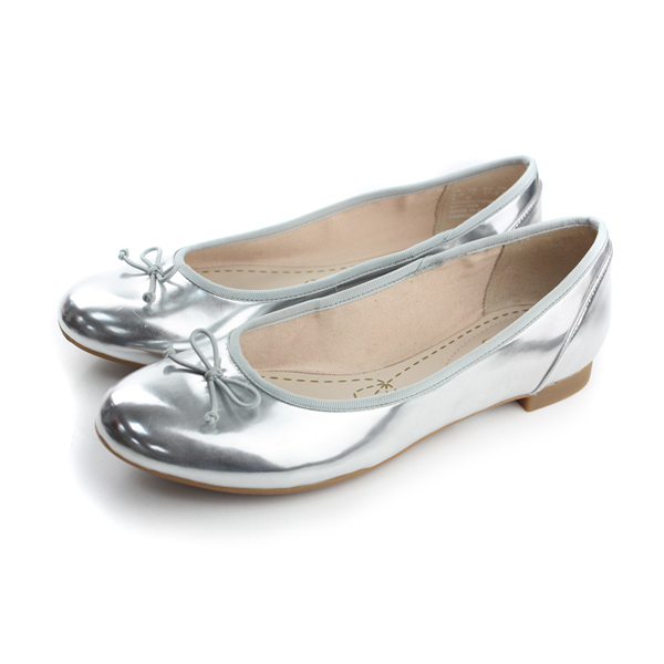 Clarks Couture Bloom 平底鞋 銀 女款 no736