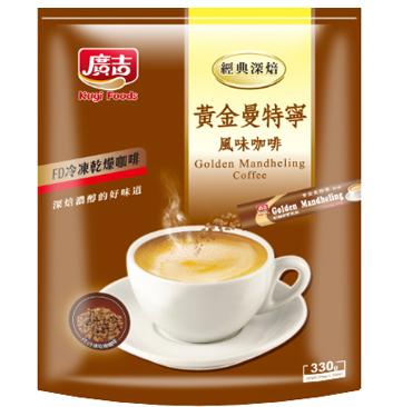《廣吉》頂級黃金曼特寧咖啡( 22公克X15包 )