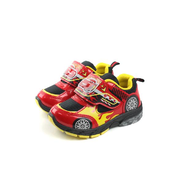 閃電麥坤 Cars 運動鞋 童鞋 紅色 中童 no890