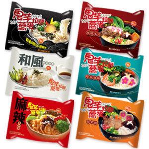 【四 五精選】 低卡蒟蒻麵 鬼芋蕎麥拉麵 (單入)