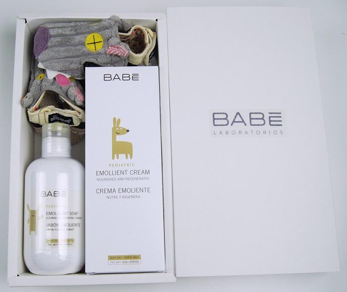 【聖誕好禮加碼送Deglingos學步鞋】西班牙【BABE】貝貝Lab.舒敏禮盒(舒敏潤膚霜+潤膚液體皂)