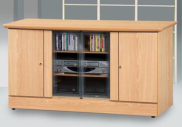 【尚品家具】111-01山毛4尺電視櫃矮櫃儲櫃長櫃~另有白橡柚木胡桃色、2尺、3尺