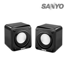 {光華成功NO.1}  SANYO 三洋 SYSP-6711U 2.0聲道USB方塊多媒體喇叭  喔!看呢來