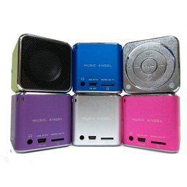 {光華成功NO.1}音樂天使MD-07U 紫色, 支援USB/MICRO SD卡, 紫色 攜帶型喇叭  喔!看呢來