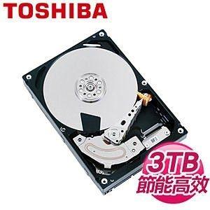 [NOVA成功3C]TOSHIBA 東芝 DT01ABA300V 3TB 3.5吋 32M快取 SATA3影音監控硬碟  喔!看呢來